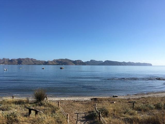 The bay at Puerto Pollensa