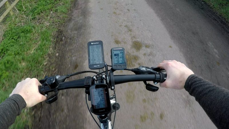 Bike computer compatibility with Garmin Varia