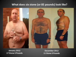 What does 6 stones of weight loss look like