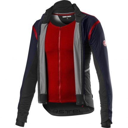 Castelli Alpha ROS 2 Jacket Red