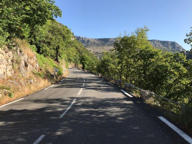 Col de L'Ecre climb
