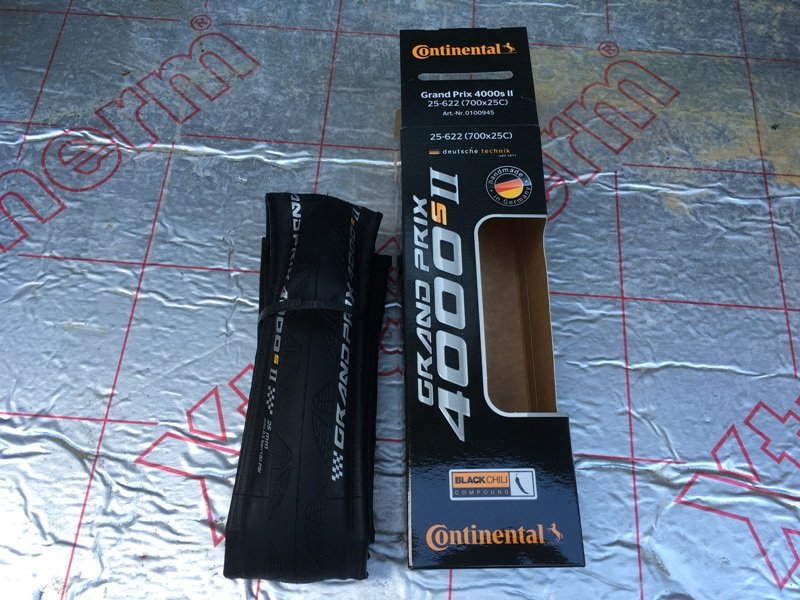 Continental Grand Prix 4000S road bike tyres