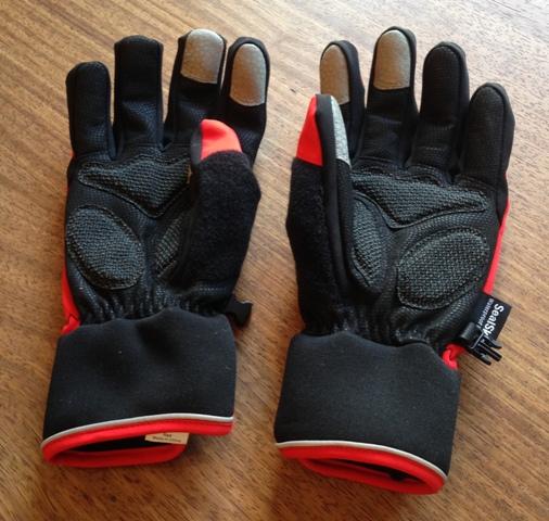 Cycling gloves gel padding