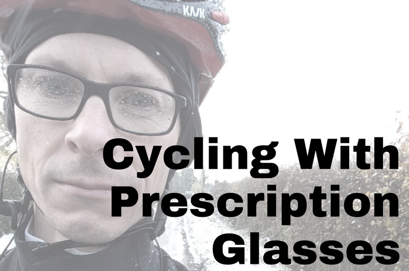Cycling with prescription glasses