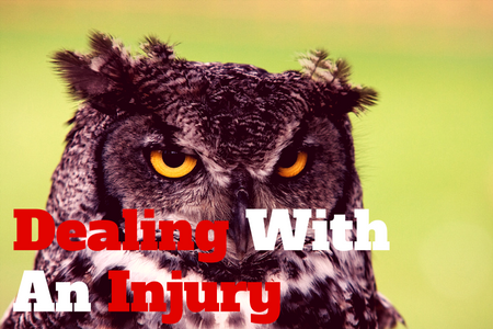 Dealing With An Injury