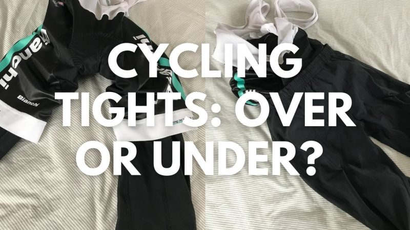 Do You Wear Cycling Tights Over Or Under Shorts