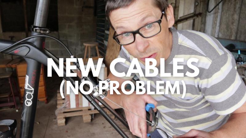 Domane rebuild new cables