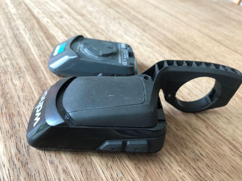 ELEMNT BOLT V2 fits in an original V1 mount