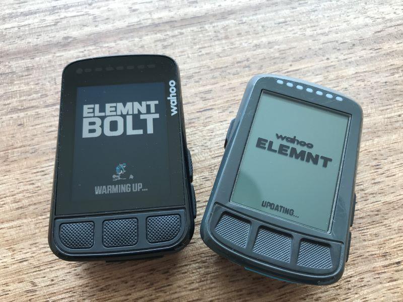 ELEMNT BOLT V2 vs V1 case design