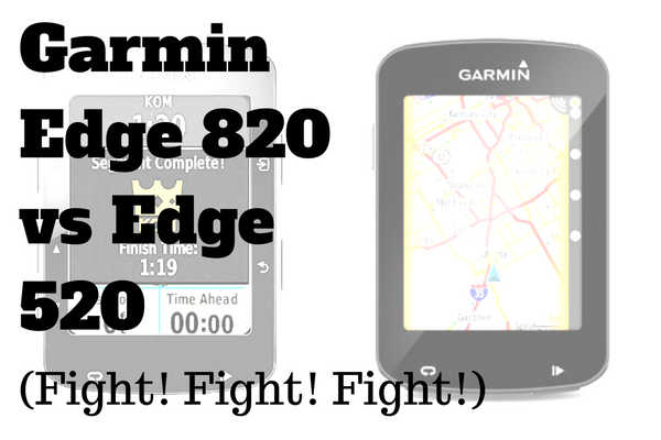 Garmin Edge 820 vs Edge 520