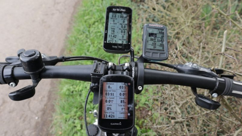 Edge BOLT and Rider 750 with Varia alerts