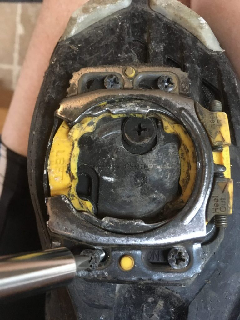 Fixing loose Speedplay cleat