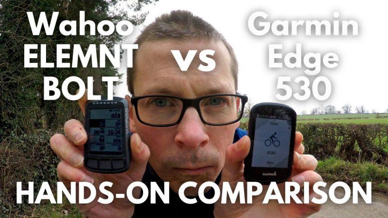 Garmin Edge 530 vs Wahoo ELEMNT BOLT v2