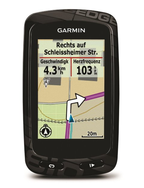 Garmin Edge 800 vs 810