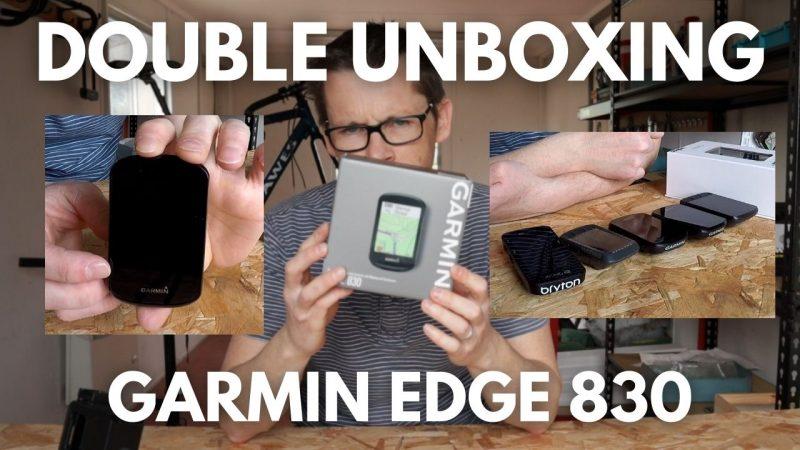 Garmin Edge 830 Unboxing