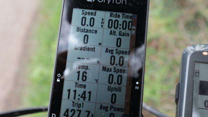 Garmin Varia and Bryton Rider 750
