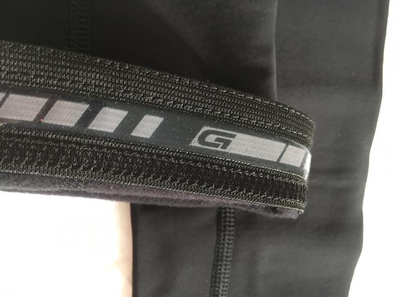 GripGrab leg warmers silicon gripper hem