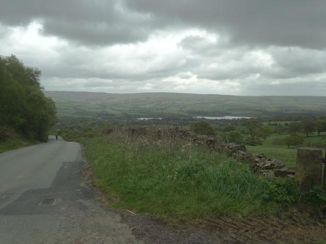 Gun Hill view back to reservoir
