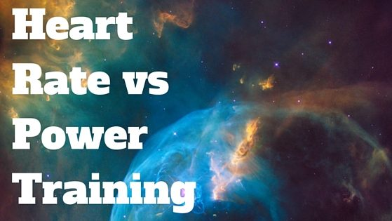 Heart rate vs power training