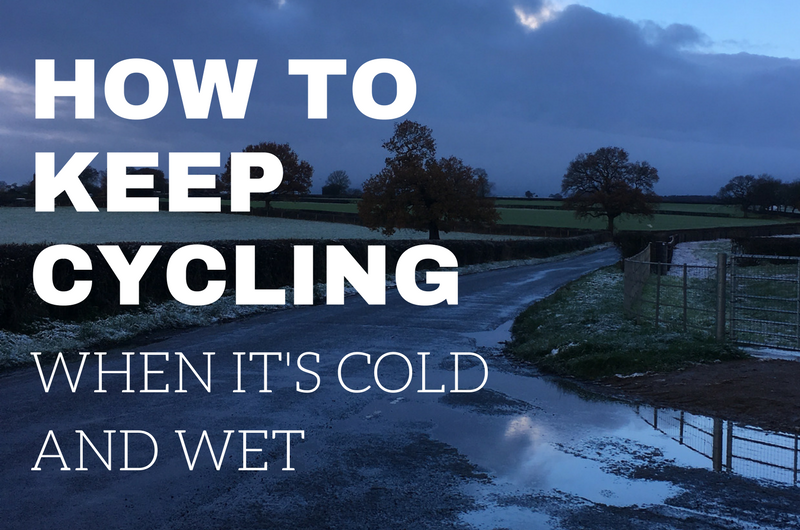 How To Maintain A Cycling Habit Into Winter (Or How I'm Going To Try…)