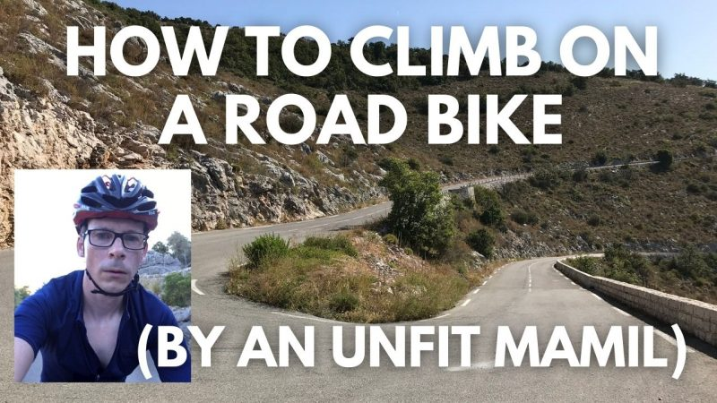 How to climb on a road bike