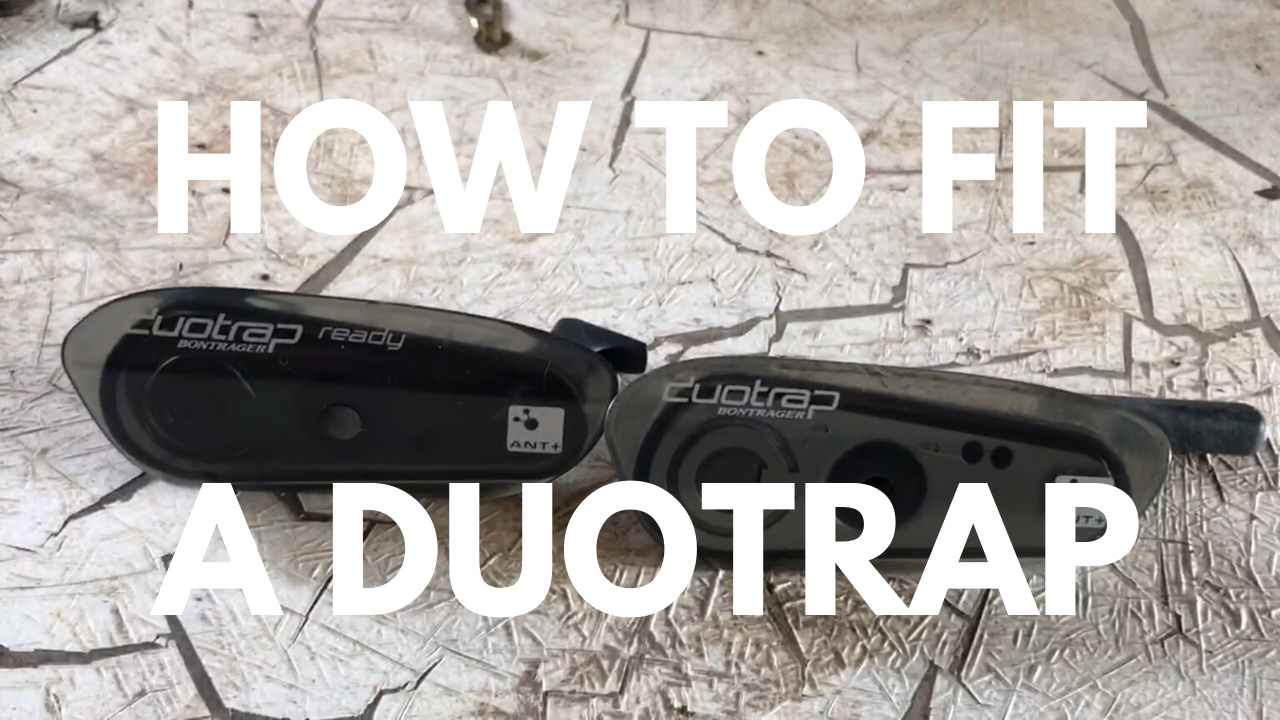 How to fit a Bontrager Duotrap
