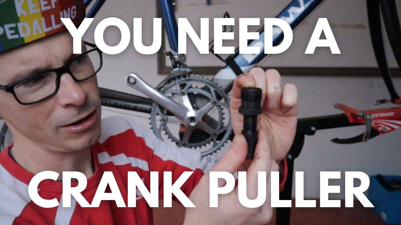 How to remove a crank from a square taper bottom bracket