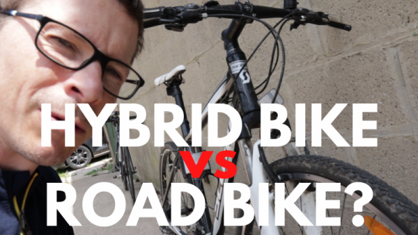 Hybrid bike versus road bike