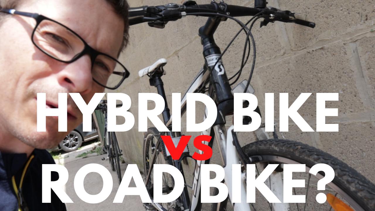Hybrid bike versus road bike