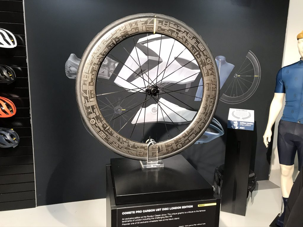 Mavic Comete Pro Carbon UST disc wheel