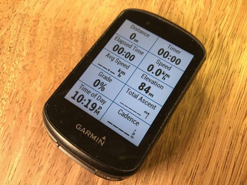 Garmin Edge 530 device