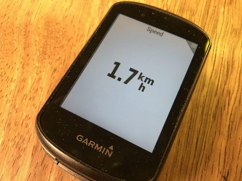 Garmin Edge 530 maximum text size