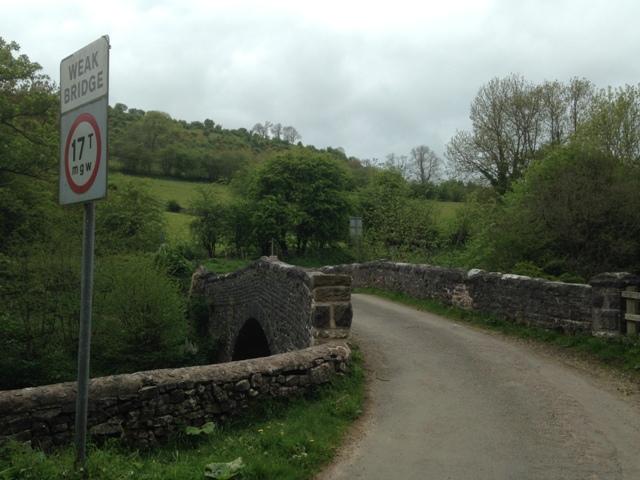 Larkstone Lane bridge