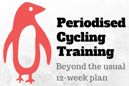 Periodised cycling training