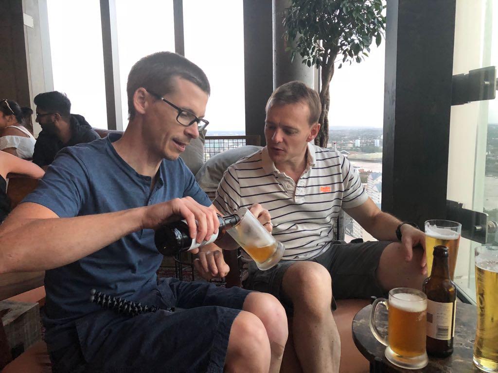 Pre Ridelondon drinks