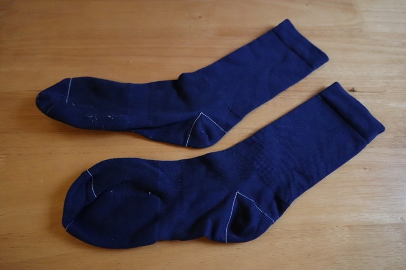 Rapha navy blue socks