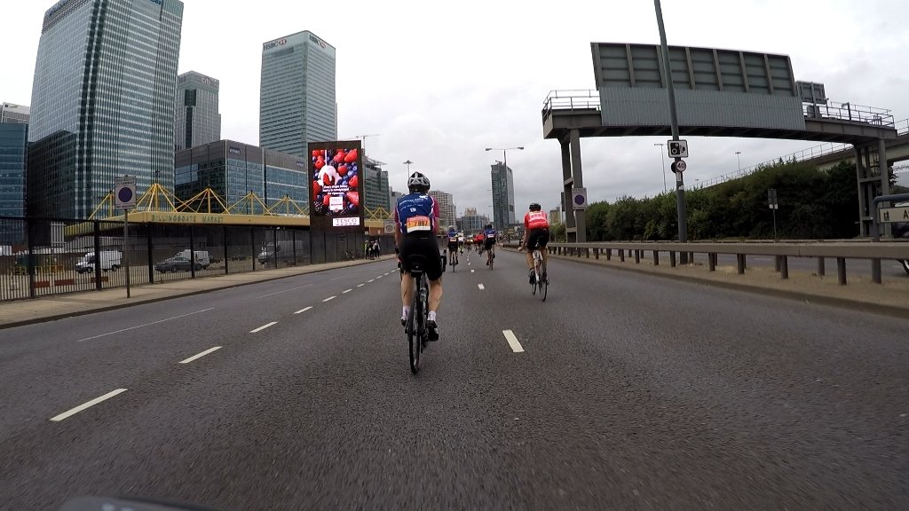 RideLondon wide roads east london