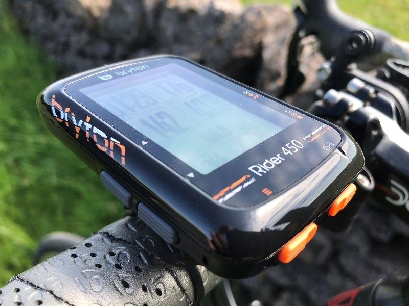 Rider 450 close up