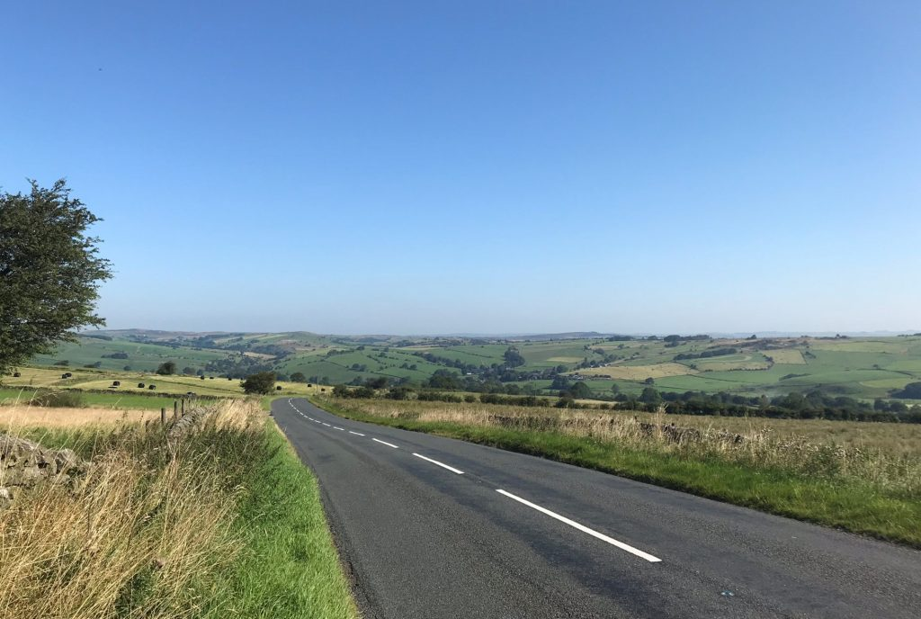 Road cycling in the Peak District