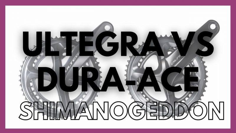 Shimano Ultegra vs Dura-Ace comparison