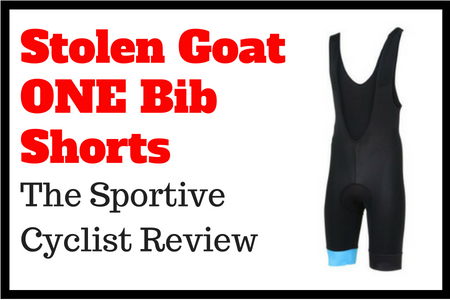 Stolen Goat ONE bib shorts review title