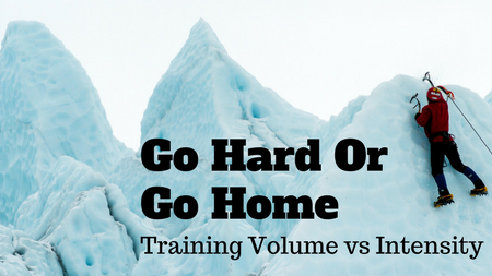 Training volume versus intensity