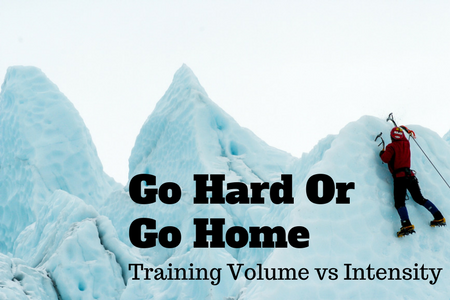 Training volume versus intensity
