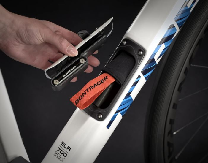 Trek BITS storage compartment in Domane SLR 7