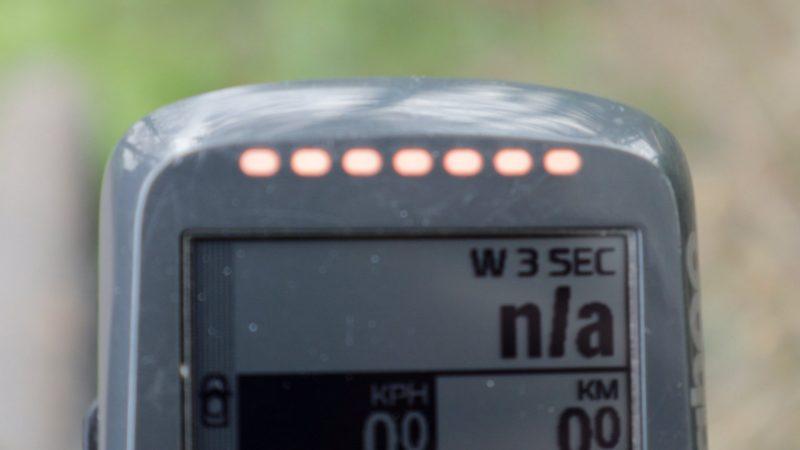 Wahoo ELEMNT BOLT Garmin Varia LEDs