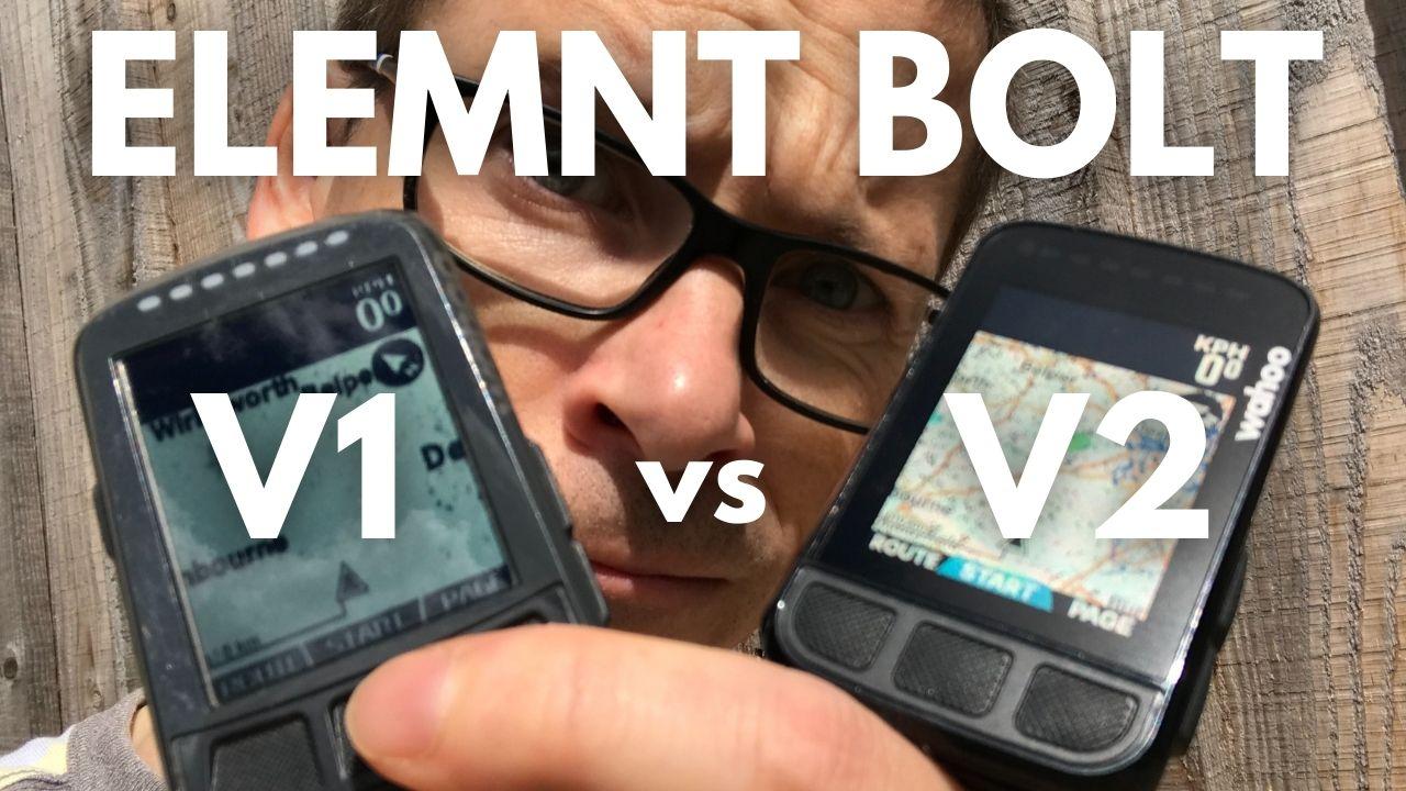 Wahoo ELEMNT BOLT V2 vs V1 What Has Changed