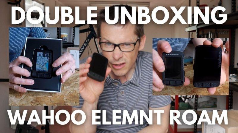 Wahoo ELEMNT ROAM Unboxing