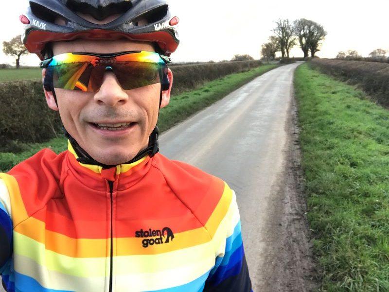 Warm winter cycling jacket