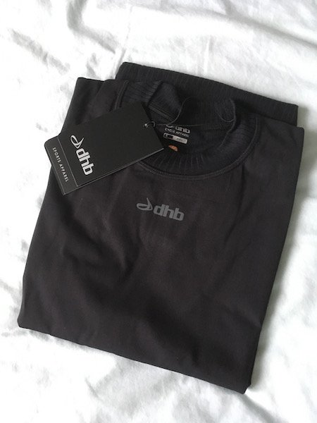 dhb aeron windproof base layer folded