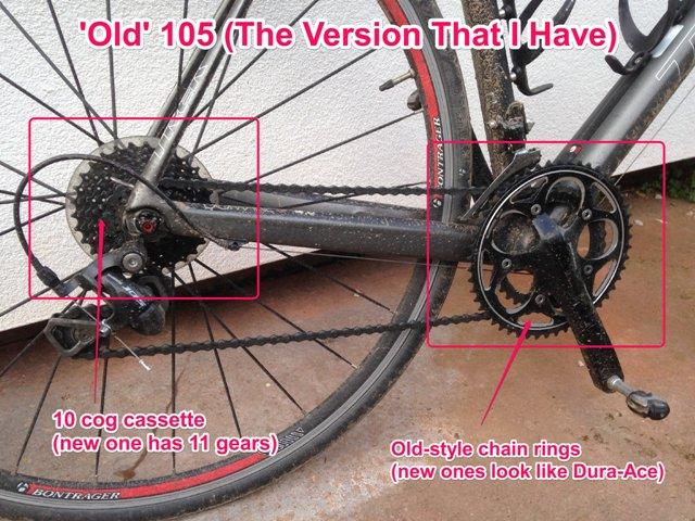 old Shimano 105